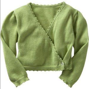 🌺2/$25 NWT Baby Gap Wraparound Cardigan